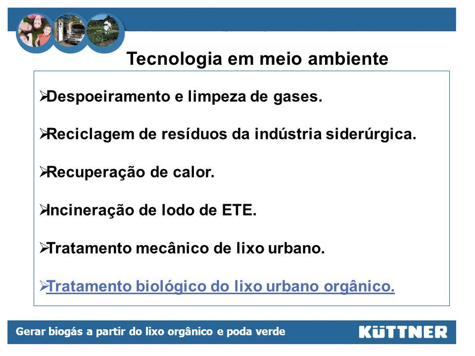 Tecnologia em meio ambiente