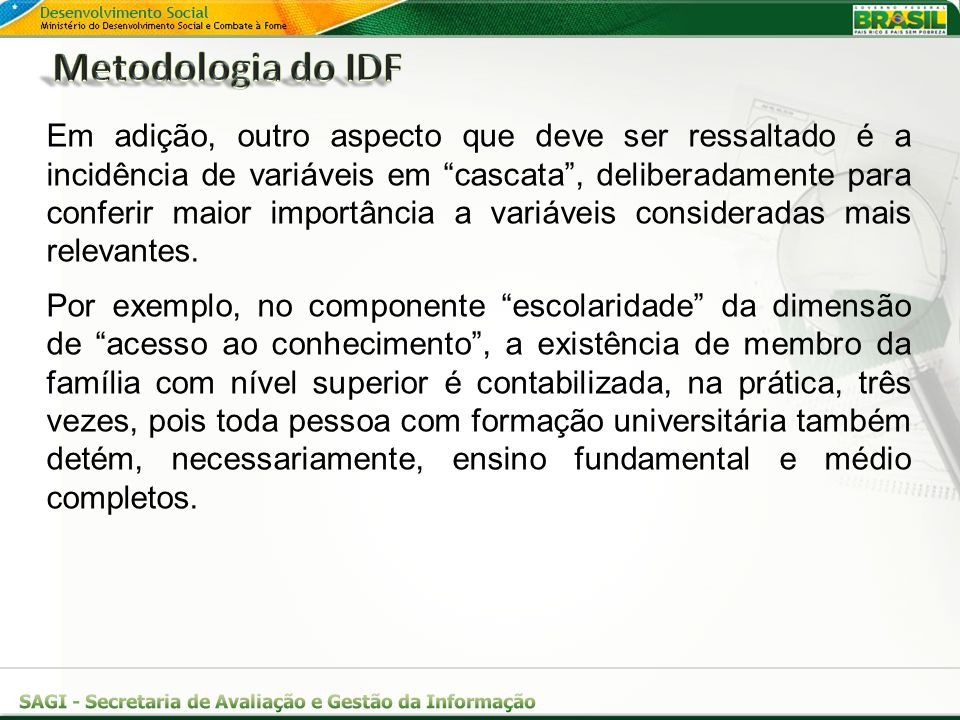 Metodologia do IDF