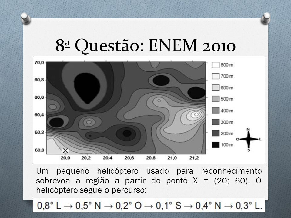 8ª Questão: ENEM 2010