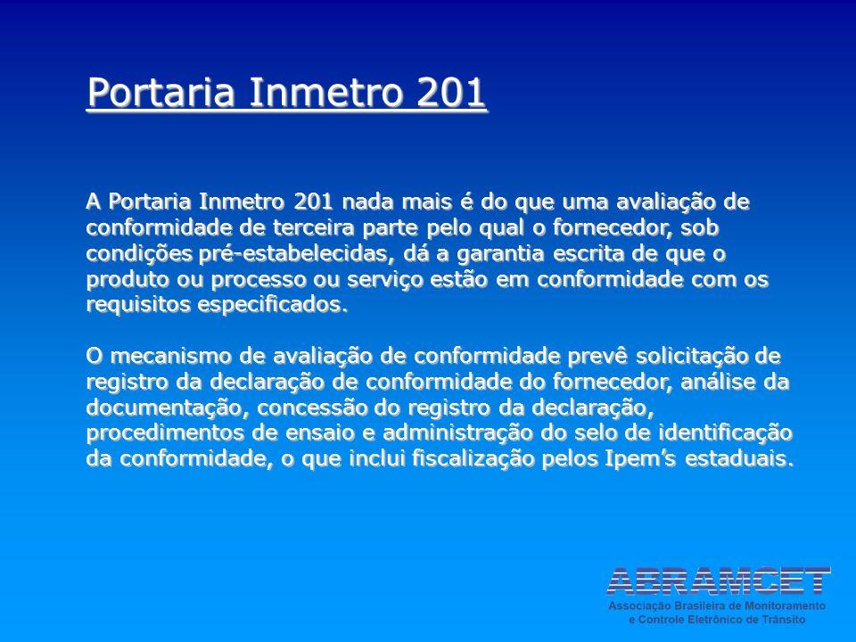 Portaria Inmetro 201