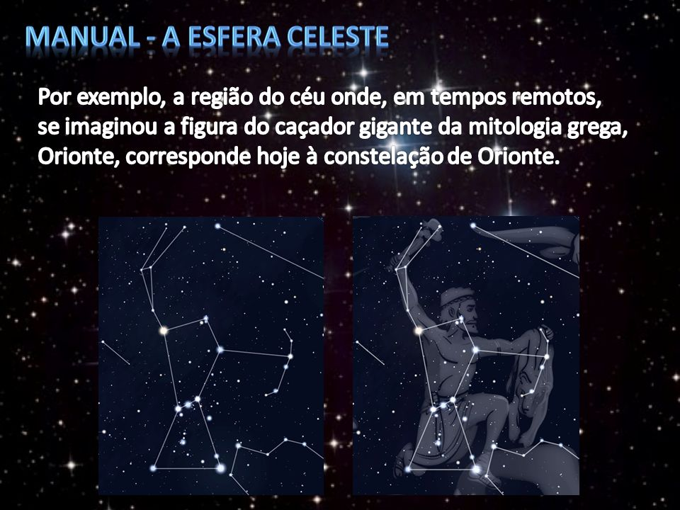 Manual - A esfera celeste