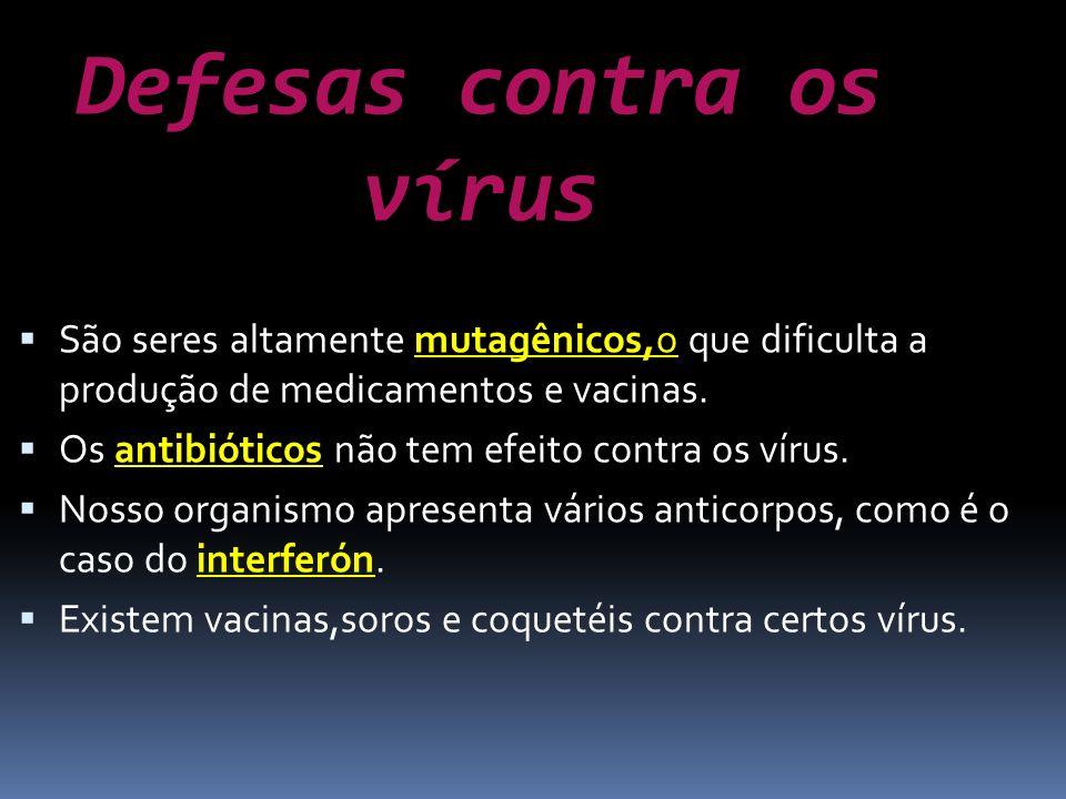 Defesas contra os vírus