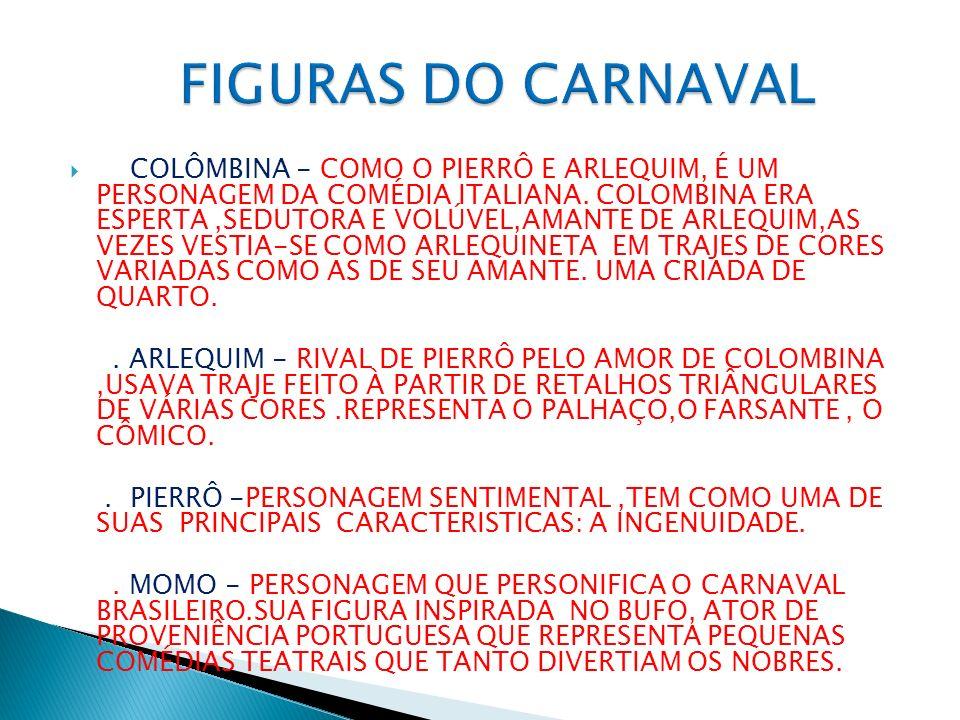 FIGURAS DO CARNAVAL