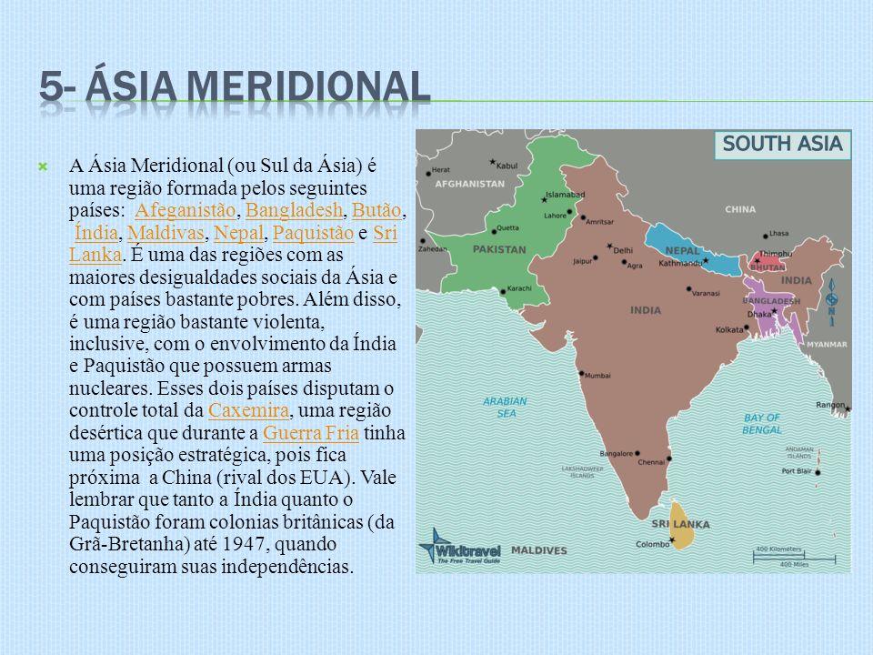 5- Ásia Meridional