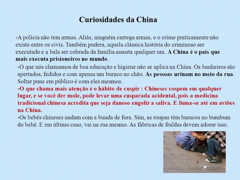 Curiosidades da China