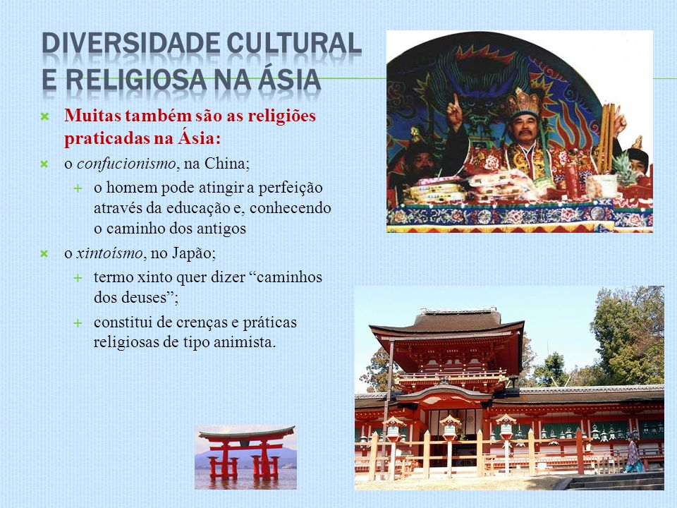 Diversidade Cultural e Religiosa na Ásia