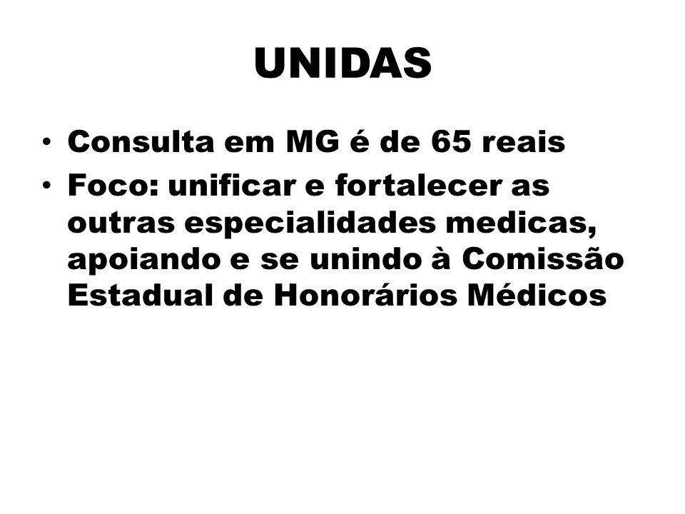 UNIDAS Consulta em MG é de 65 reais