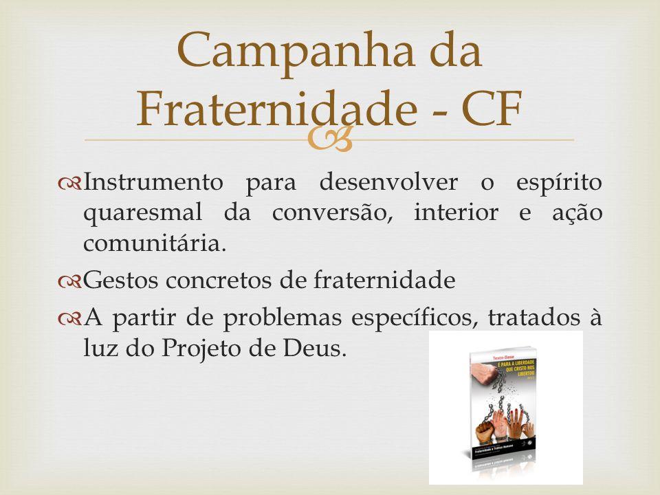 Campanha da Fraternidade - CF