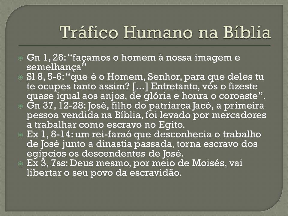 Tráfico Humano na Bíblia