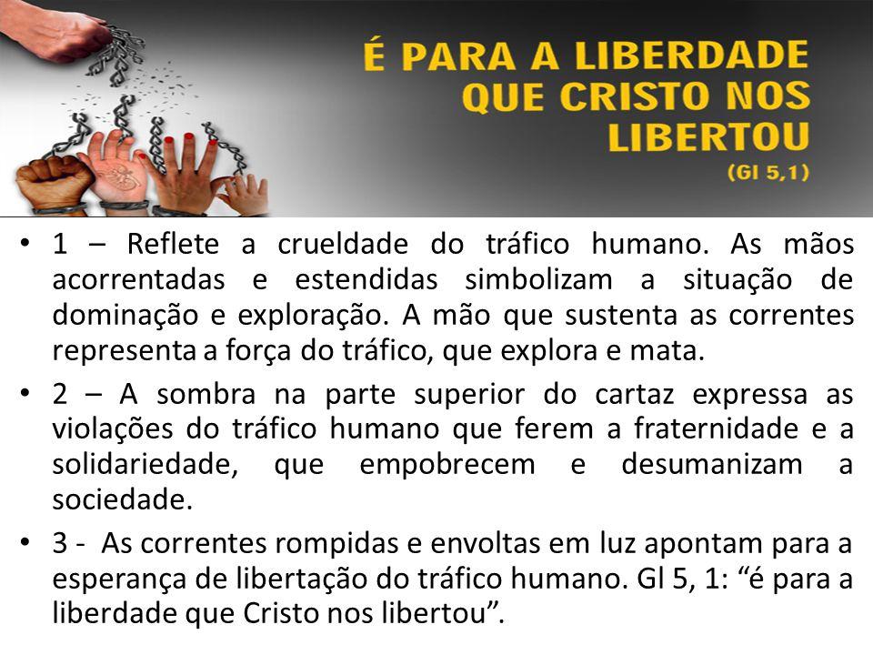 1 – Reflete a crueldade do tráfico humano