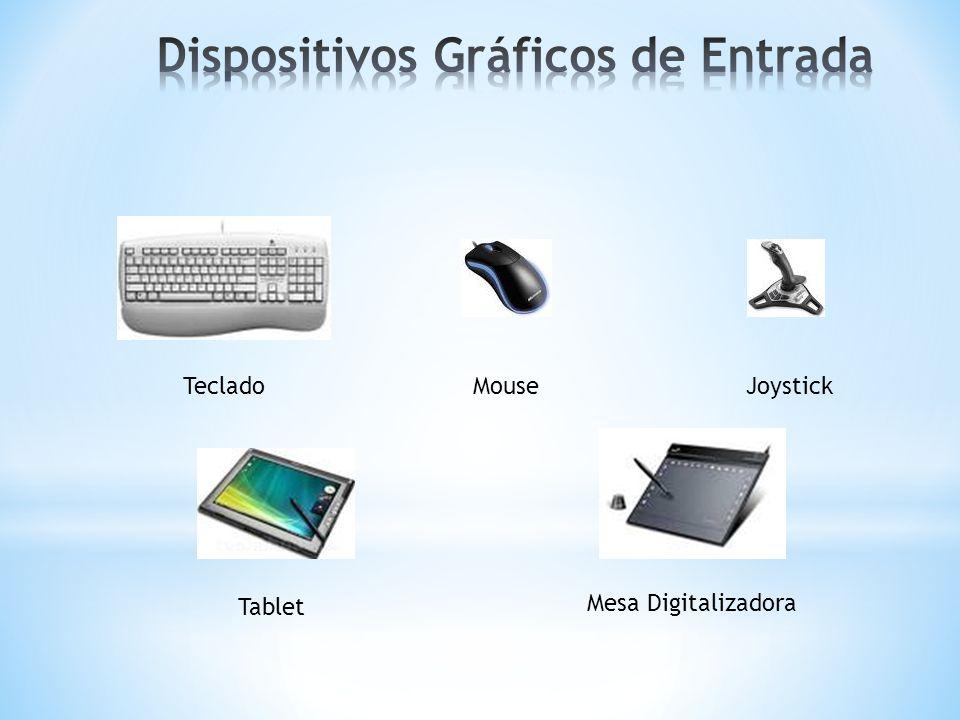 Dispositivos Gráficos de Entrada