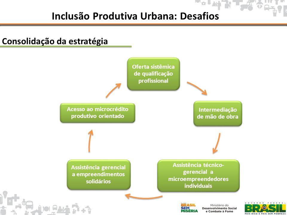Inclusão Produtiva Urbana: Desafios