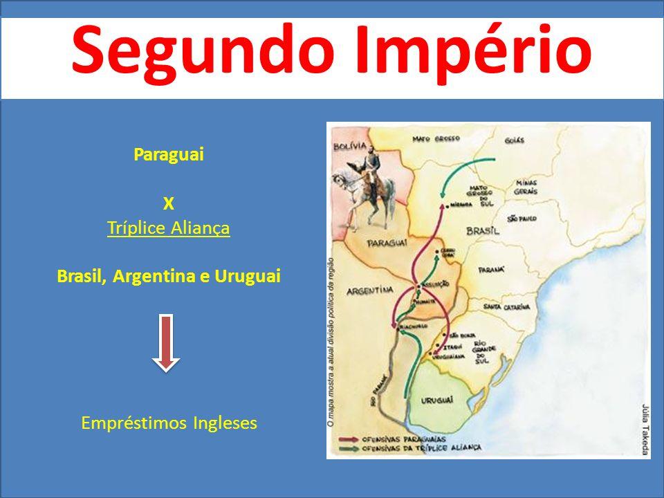 Brasil, Argentina e Uruguai