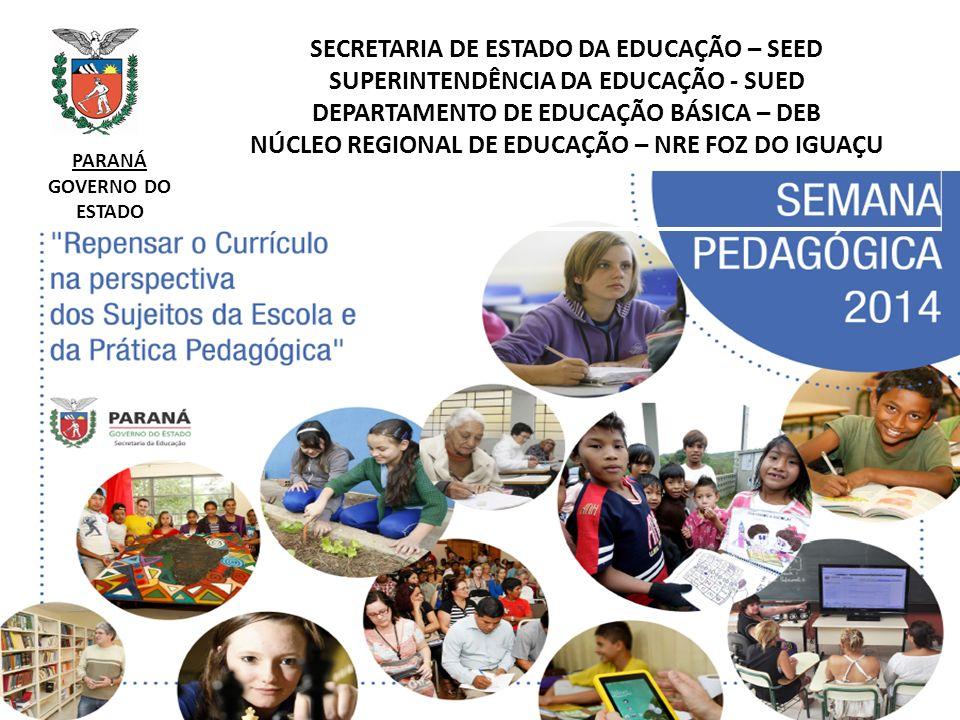 NÚCLEO REGIONAL DE EDUCAÇÃO – NRE FOZ DO IGUAÇU