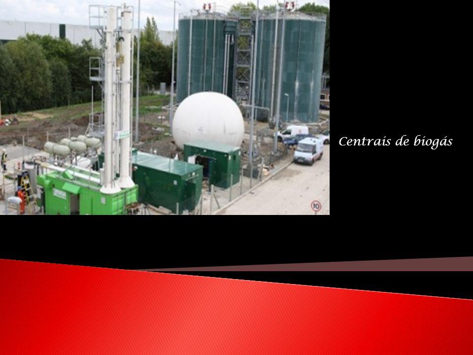 Centrais de biogás