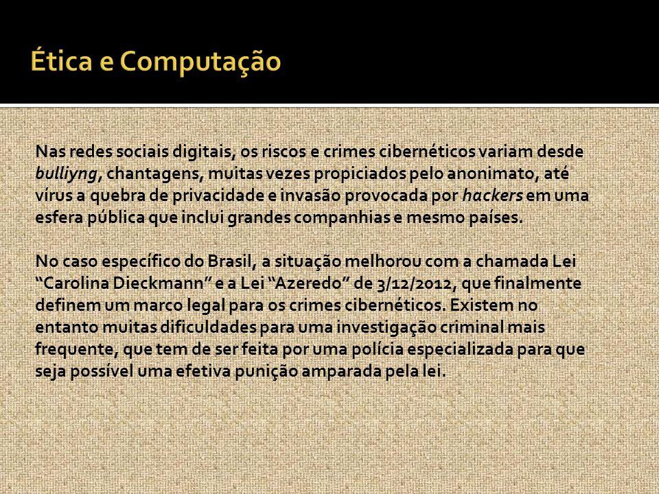 Ética e Computação