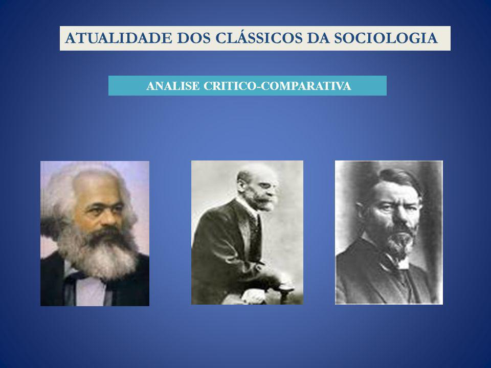 ANALISE CRITICO-COMPARATIVA