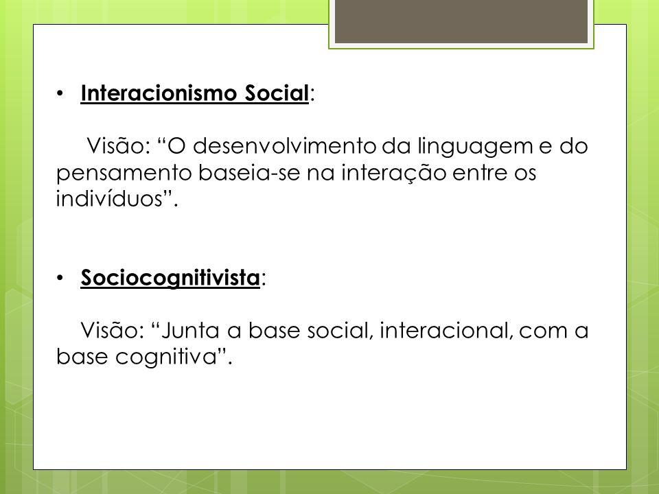 Interacionismo Social: