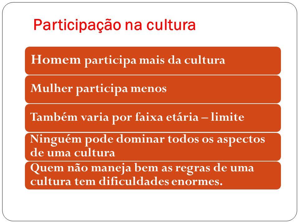 Participação na cultura