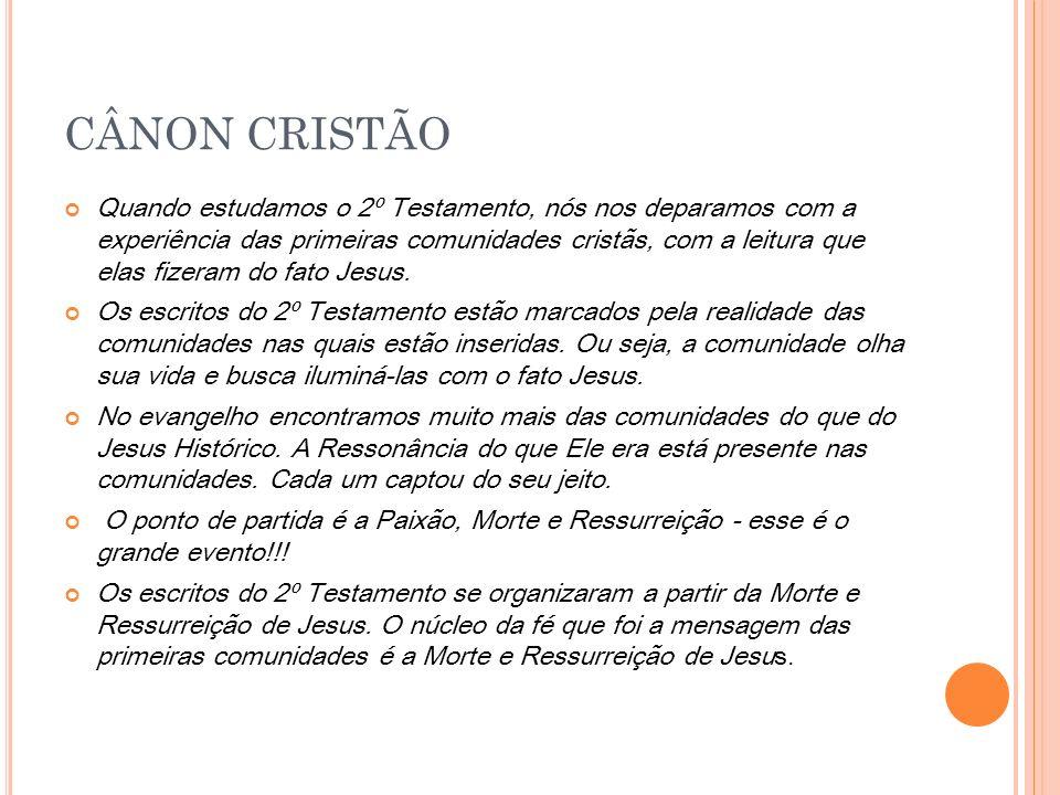 CÂNON CRISTÃO