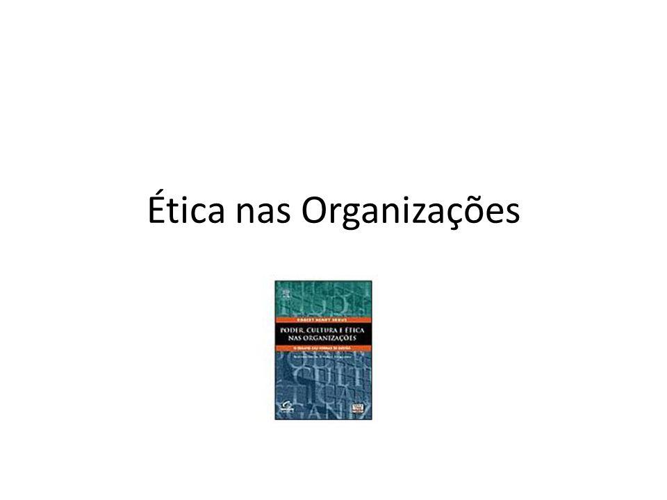 Ética nas Organizações