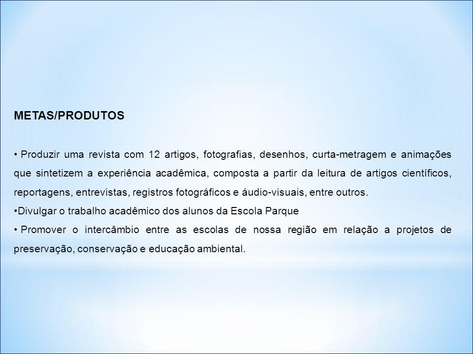 METAS/PRODUTOS