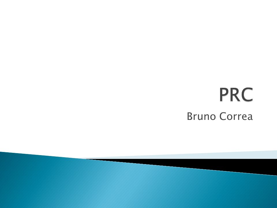 PRC Bruno Correa