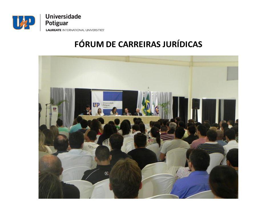 FÓRUM DE CARREIRAS JURÍDICAS