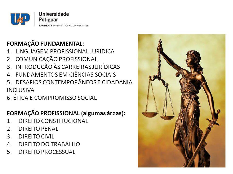 FORMAÇÃO FUNDAMENTAL: