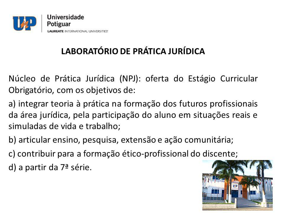 LABORATÓRIO DE PRÁTICA JURÍDICA