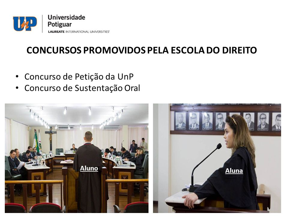 CONCURSOS PROMOVIDOS PELA ESCOLA DO DIREITO