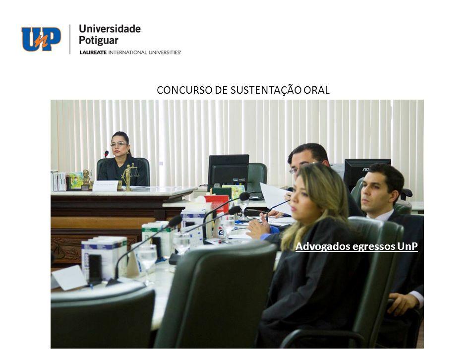 CONCURSO DE SUSTENTAÇÃO ORAL