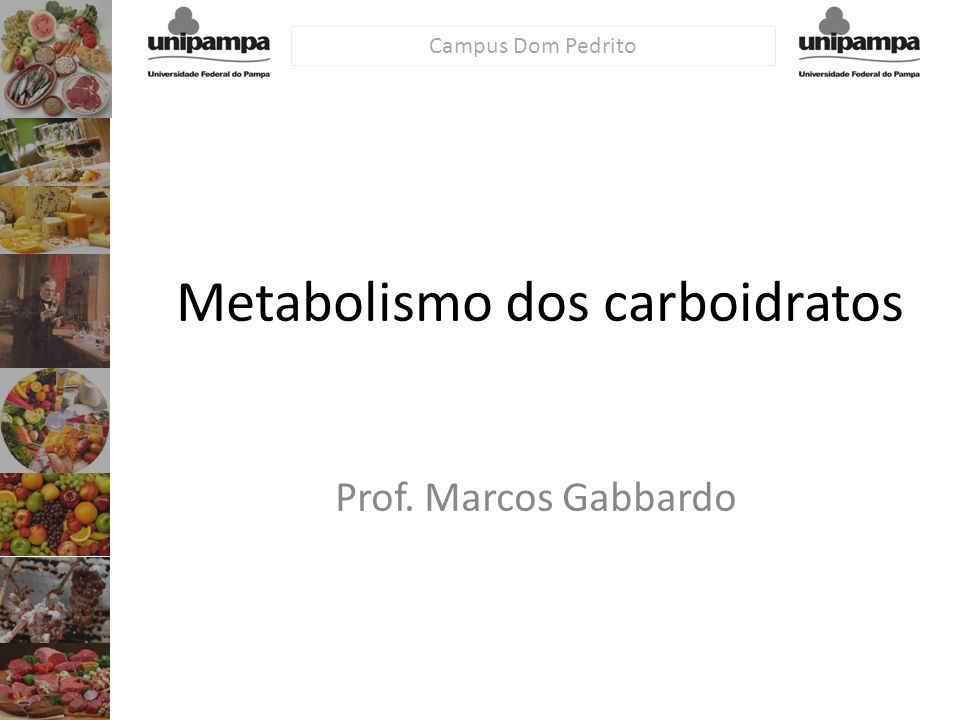 Metabolismo dos carboidratos