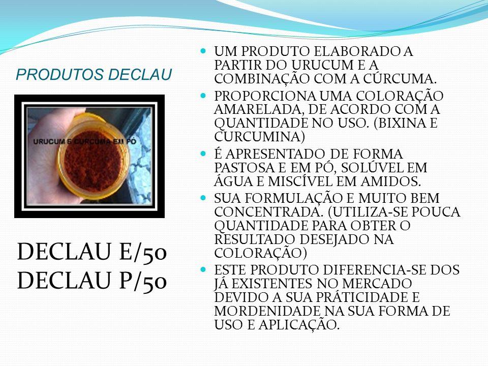 DECLAU E/50 DECLAU P/50 PRODUTOS DECLAU