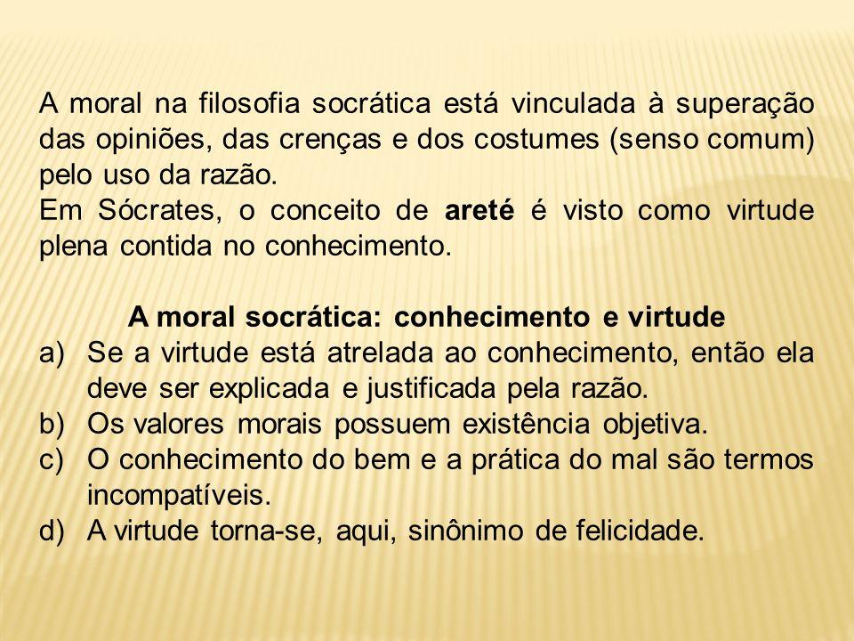A moral socrática: conhecimento e virtude