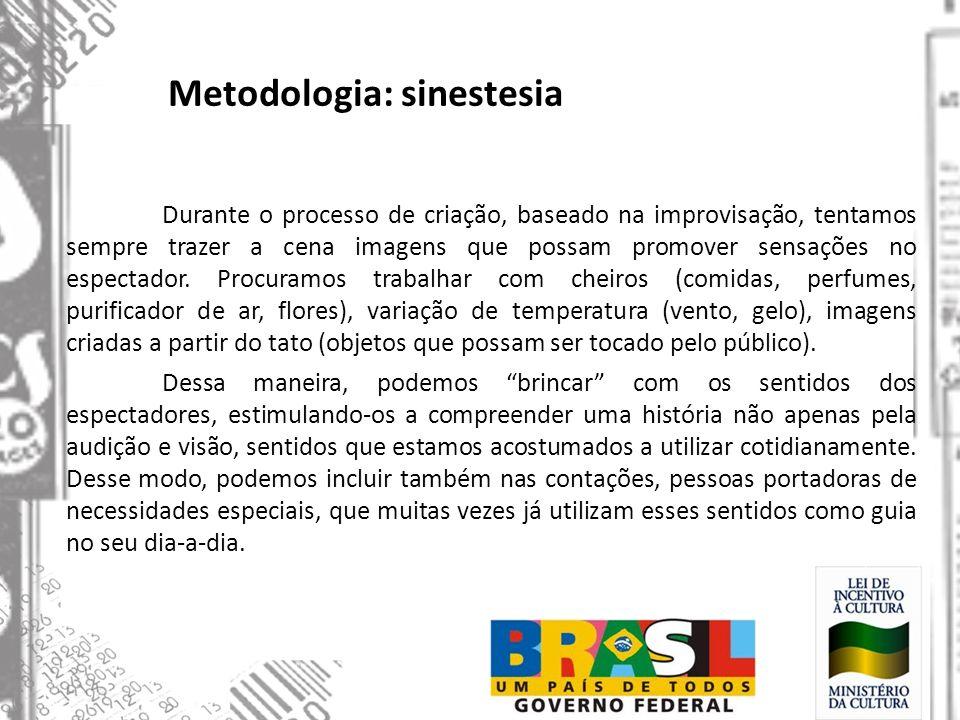 Metodologia: sinestesia