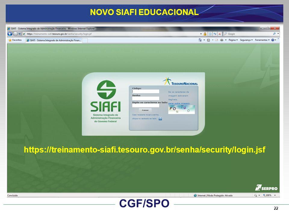 NOVO SIAFI EDUCACIONAL