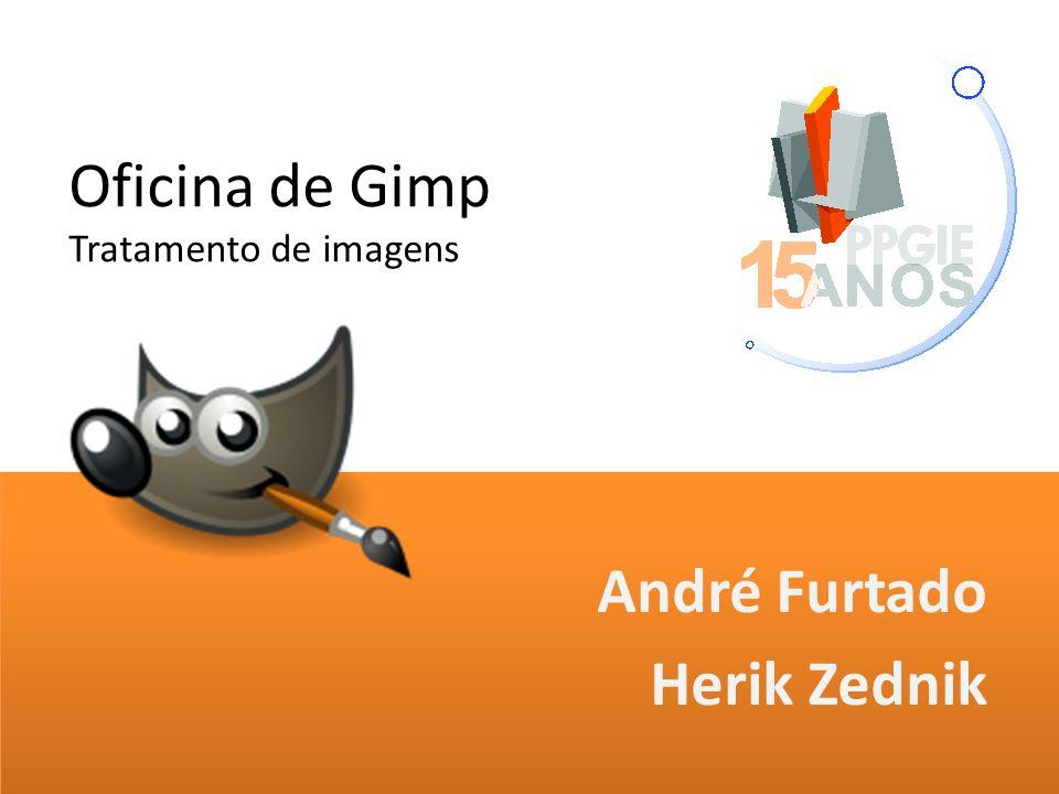 Oficina de Gimp Tratamento de imagens