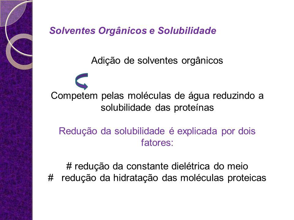 Solventes Orgânicos e Solubilidade