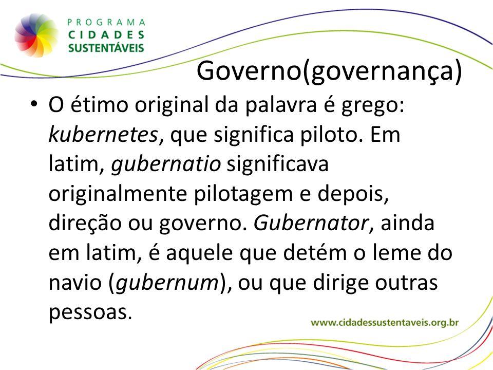 Governo(governança)
