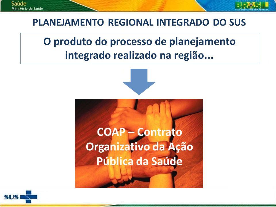 COAP – Contrato Organizativo da Ação Pública da Saúde