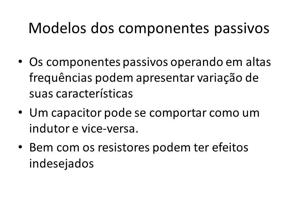 Modelos dos componentes passivos