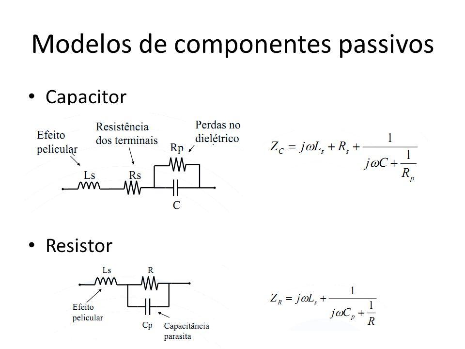 Modelos de componentes passivos