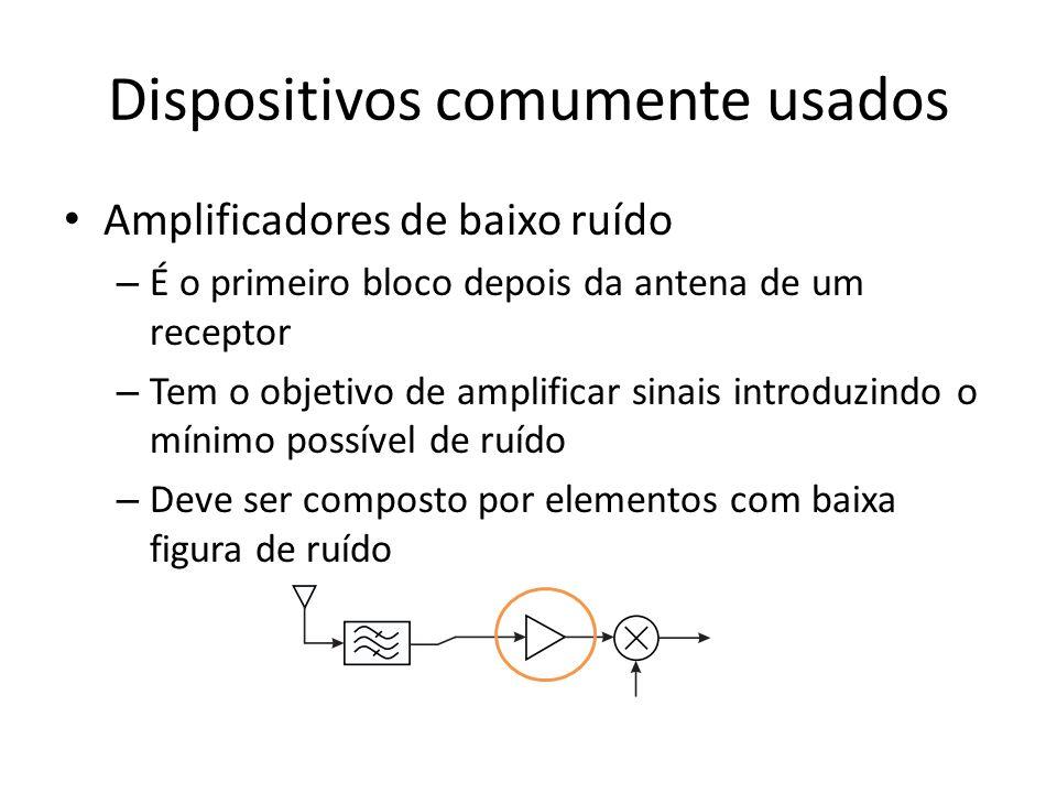 Dispositivos comumente usados
