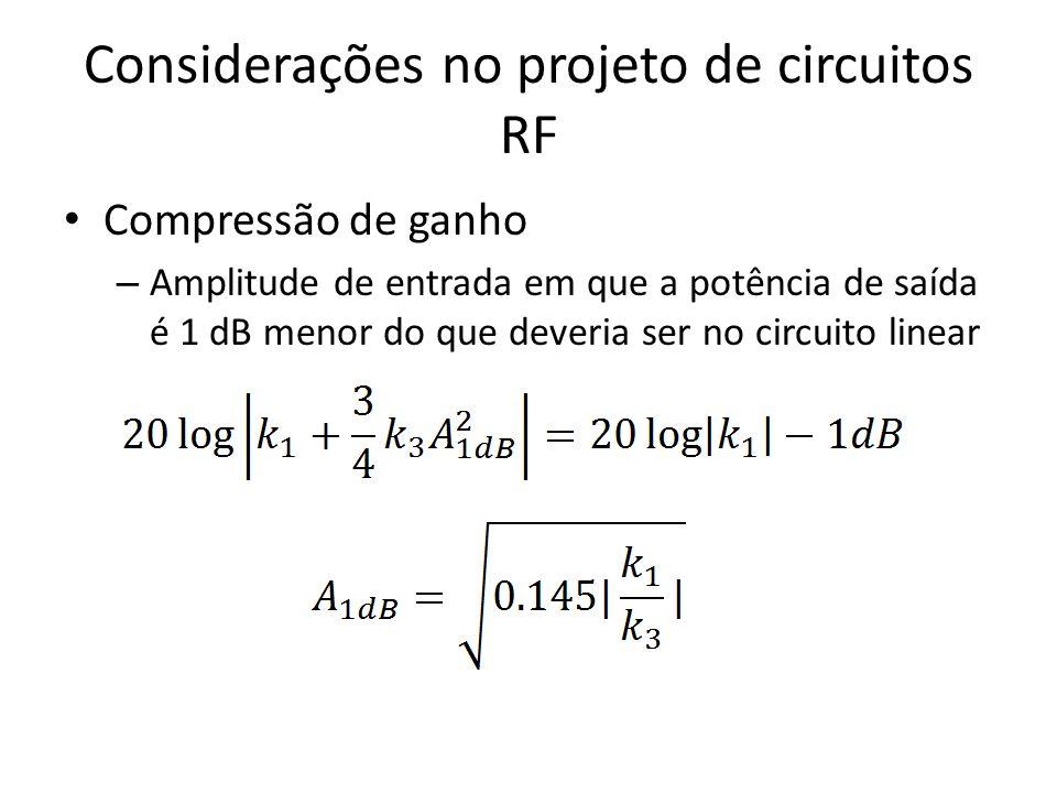 Considerações no projeto de circuitos RF