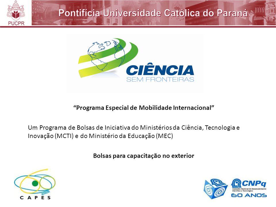 Programa Especial de Mobilidade Internacional