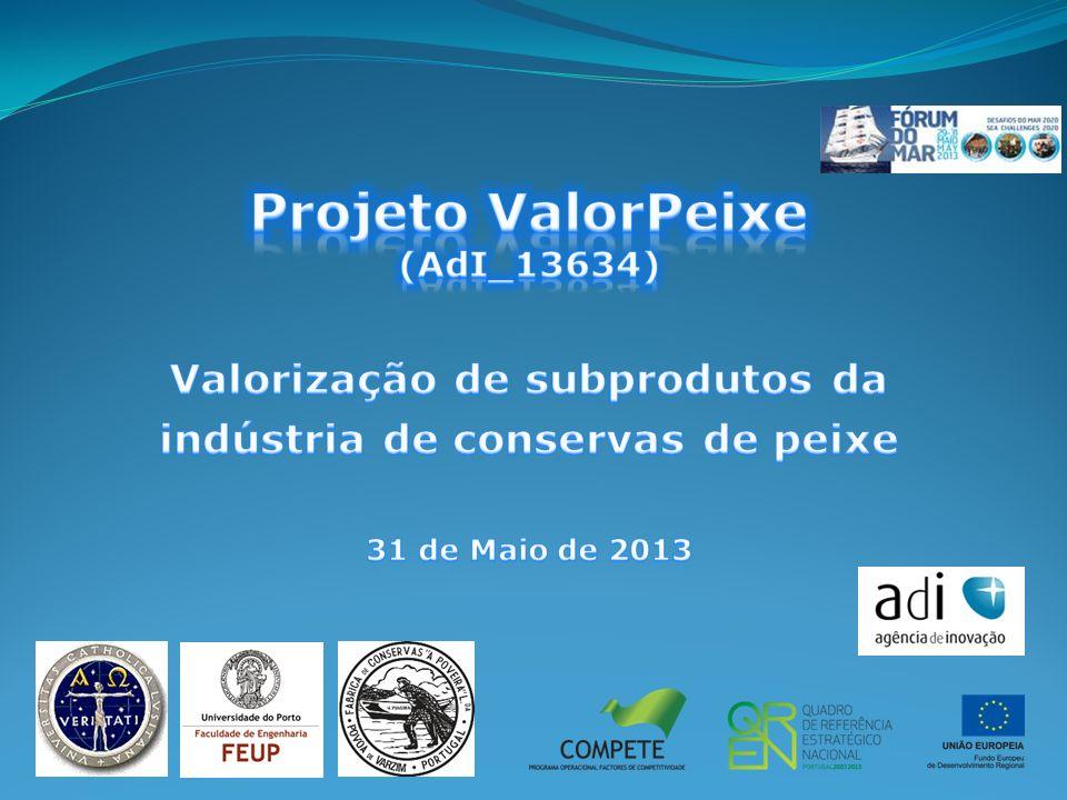 Valorização de subprodutos da indústria de conservas de peixe