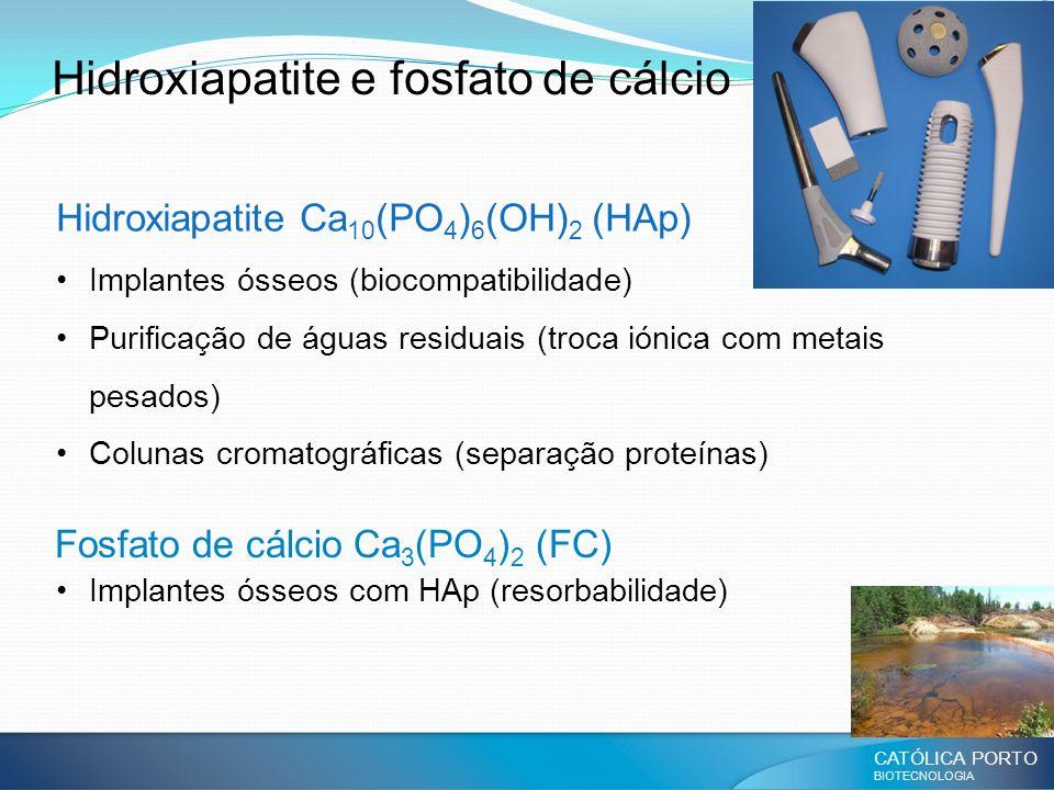 Hidroxiapatite e fosfato de cálcio