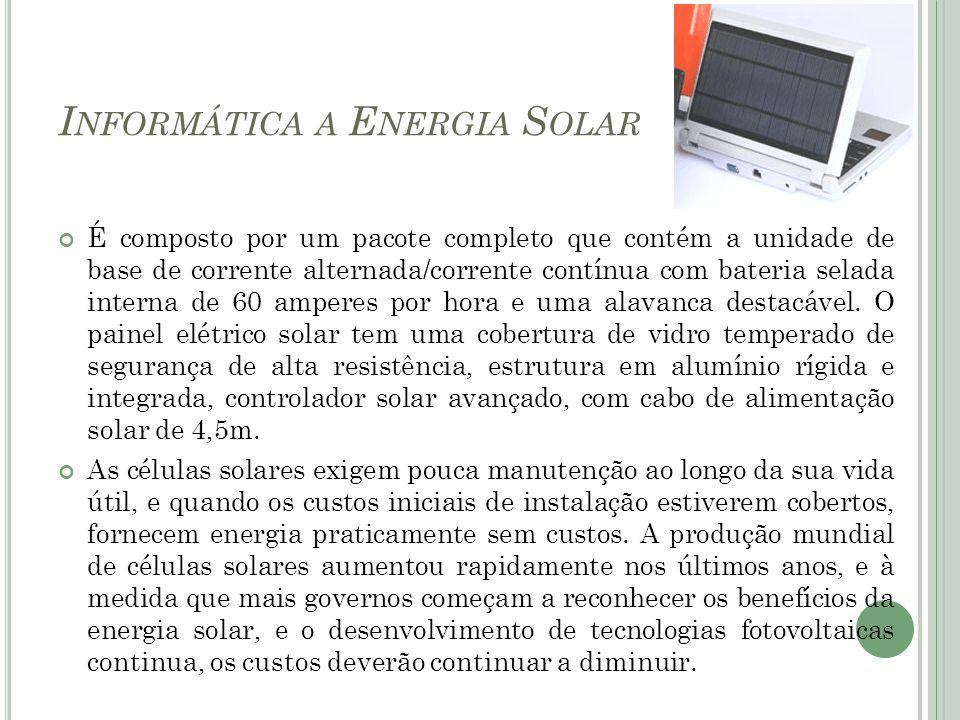 Informática a Energia Solar