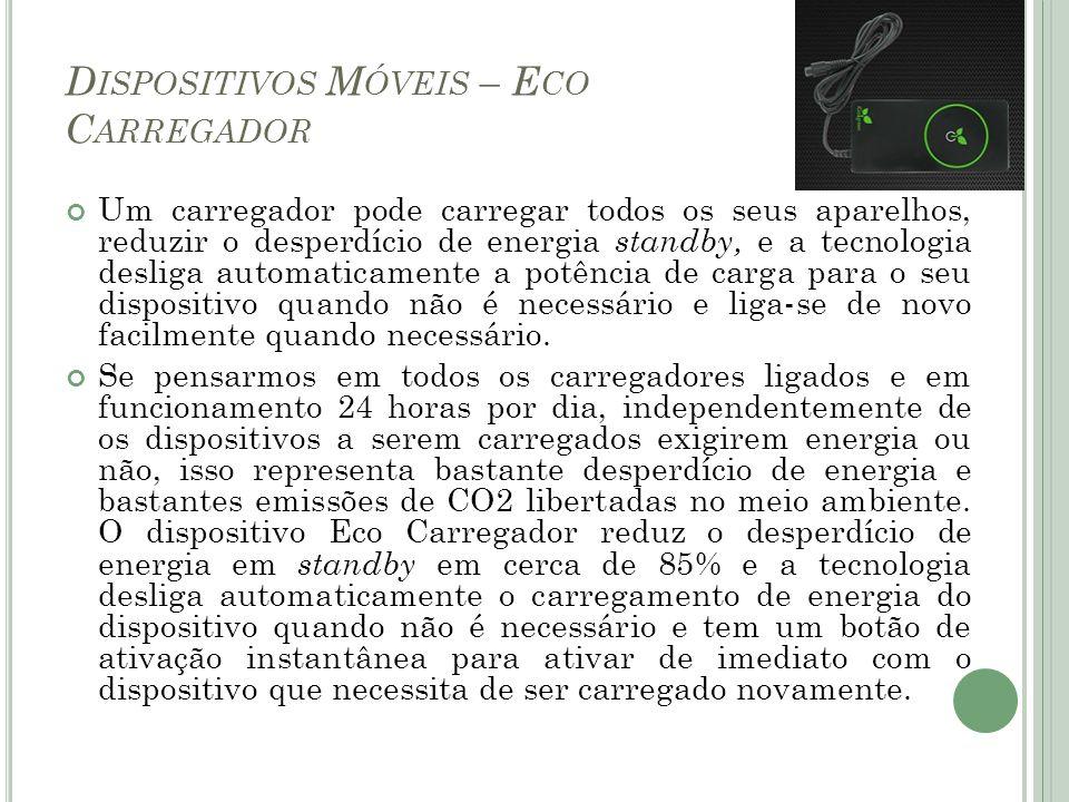 Dispositivos Móveis – Eco Carregador